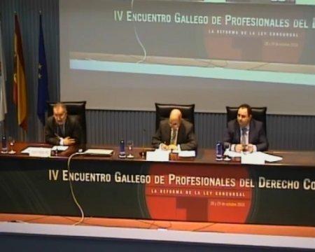 Conclusións finais - IV Encontro Galego de Profesionais do dereito concursal